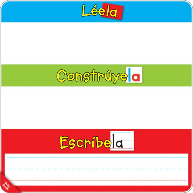 Spanish Magnetic Read, Build, And Write Boards, Letters, And Sight Words Deluxe Kit - 1 multi-item kit