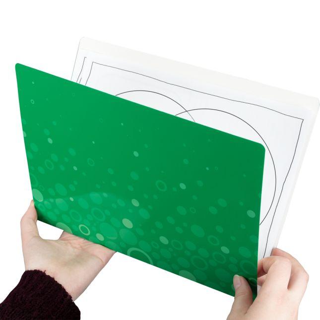 Fizz! File Folders - Set Of 12 - 6 Colors