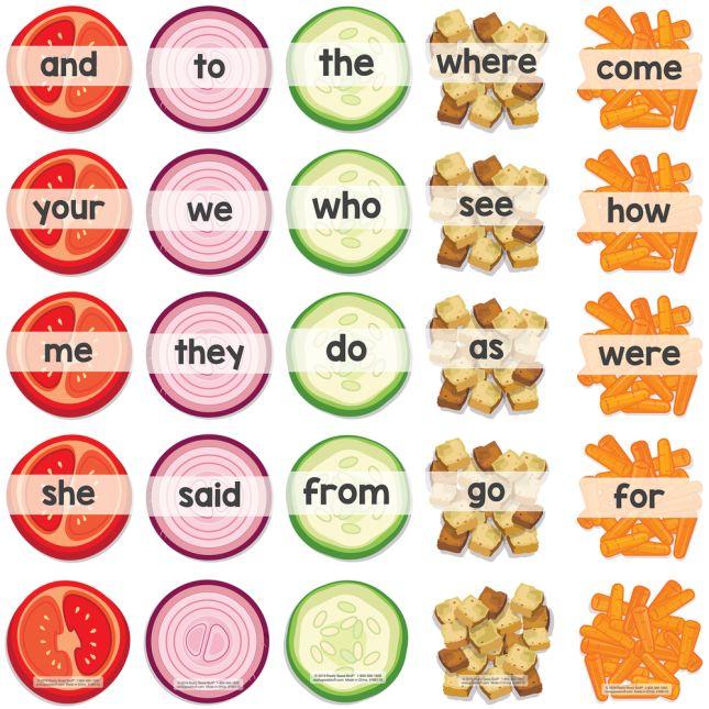 Sight-Word Salad Bar Activity