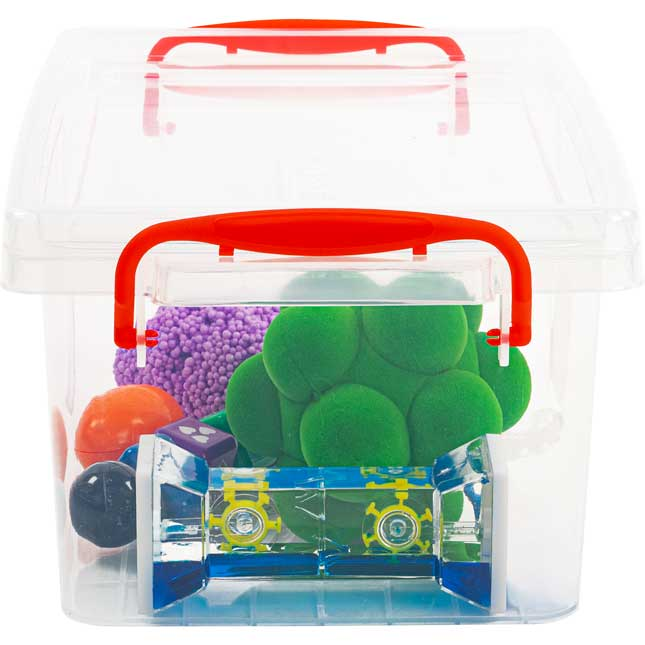 Calm Down Tools - 6 tools and storage bin