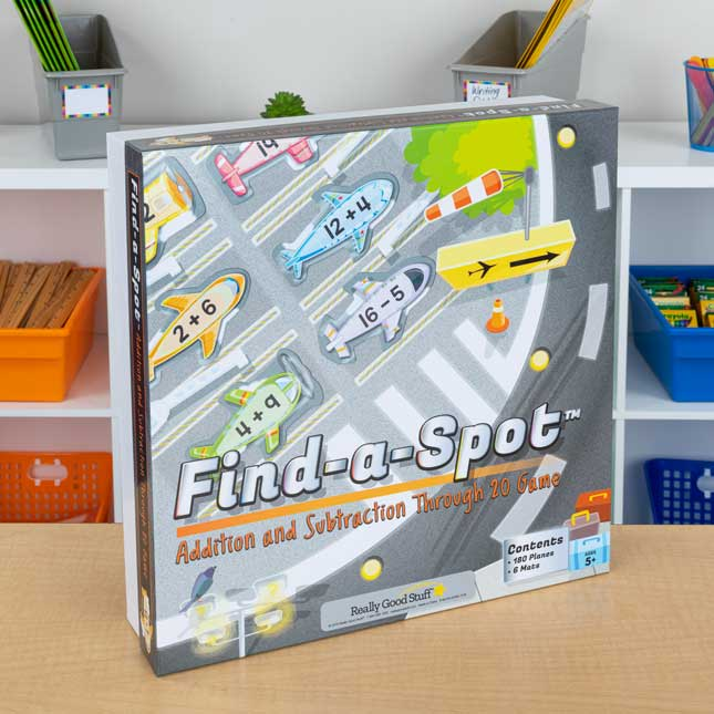 Find-A-Spot Addition And Subtraction Through 20 Game - 1 game_1