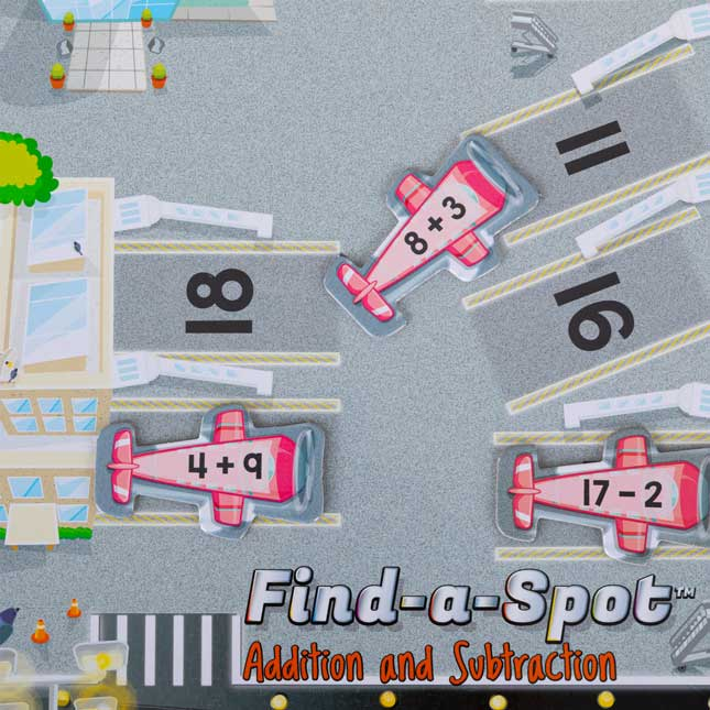 Find-A-Spot Addition And Subtraction Through 20 Game - 1 game_3