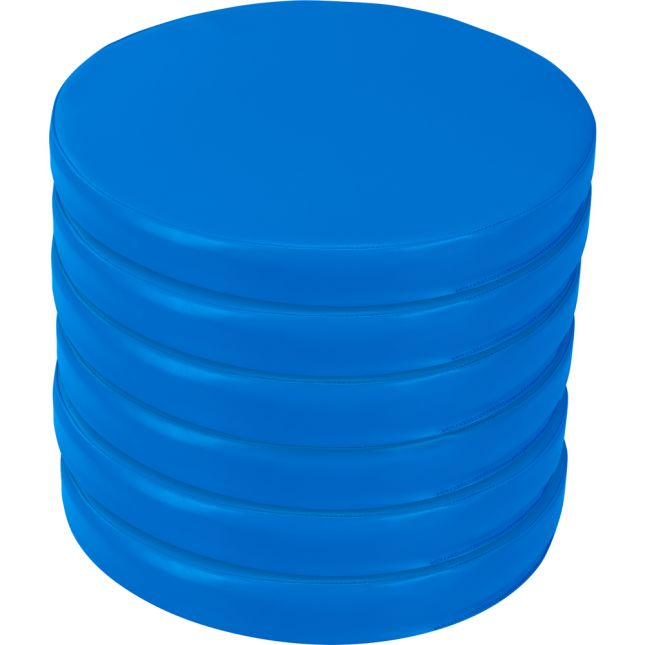 Round Cushions Set Of 6 Single Color