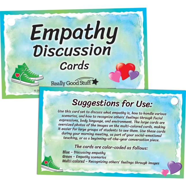 Empathy Discussion Card Set