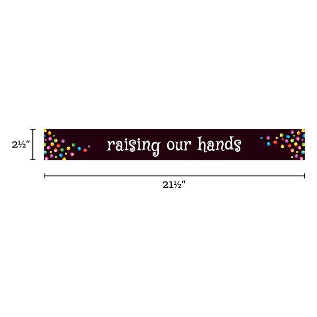 Behavior Focus Pocket Chart Cards