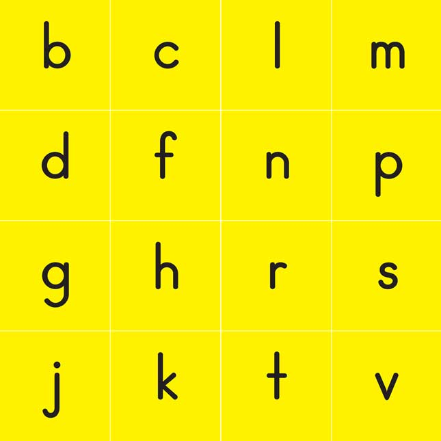 CVC and CVCC Word Building Cards