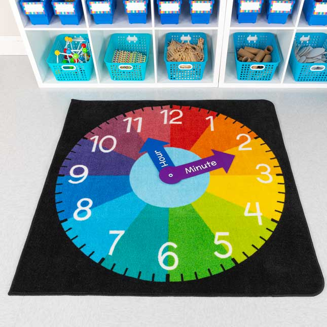 Clock Rug - 1 rug
