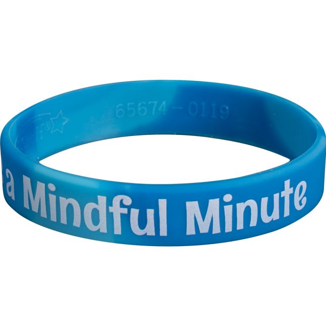 Take A Mindful Minute Silicone Bracelets