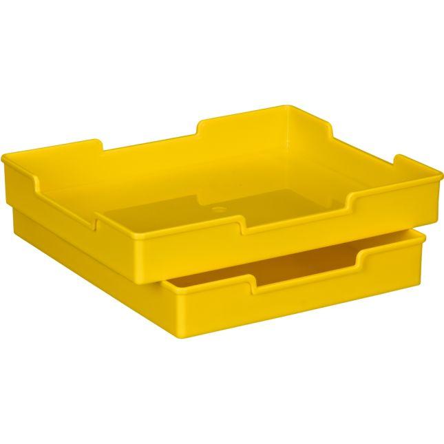 Plastic Trays - Single-Color Set Of 12