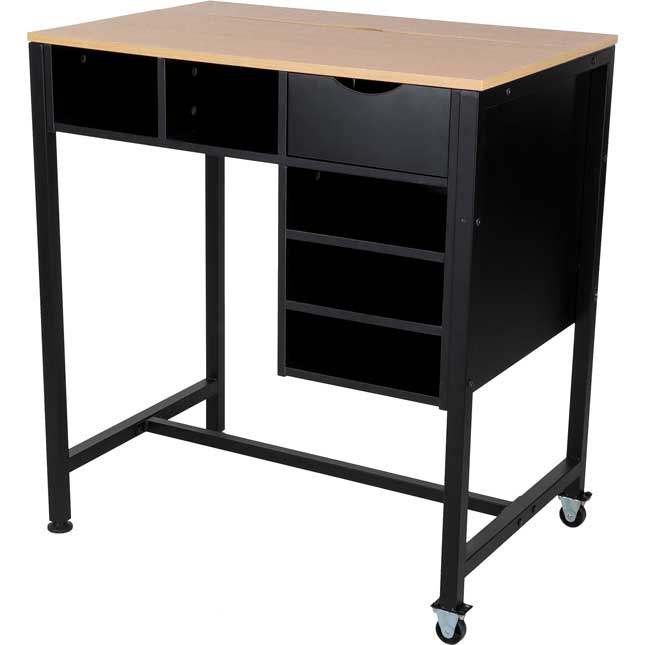 Standing Workstation With Teacher Kore Chair - 1 station, 1 chair