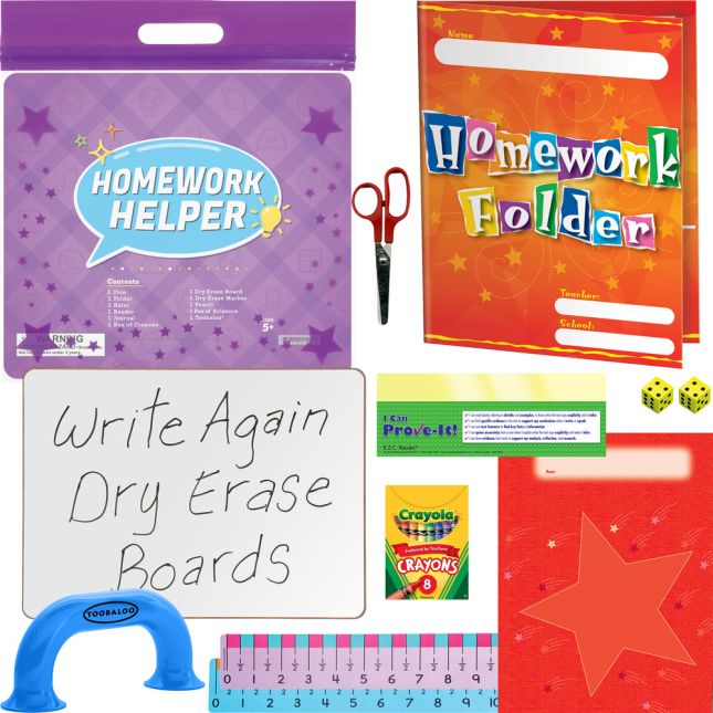 Homework Helper Pack - Primary