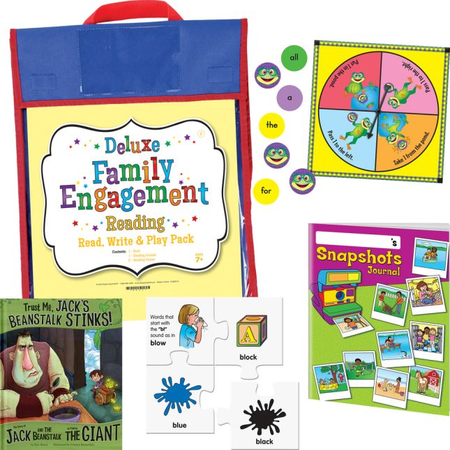 Deluxe Family Engagement Reading - Read, Write and Play Pack - Second Grade
