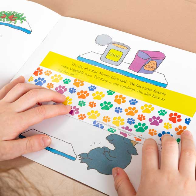 Guided Reading Strips - Paw Prints