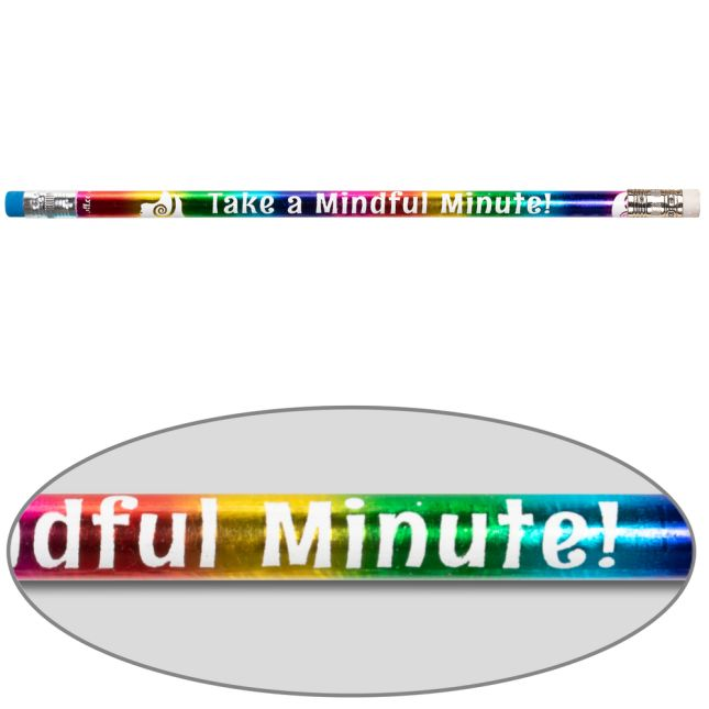 Take A Mindful Minute Pencils