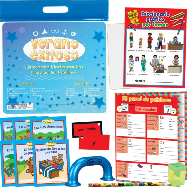 Kit de Verano Exitoso - Listo para el kinder (Summer Success Kit - SLA - Kindergarten Readiness) - 1 multi-item kit