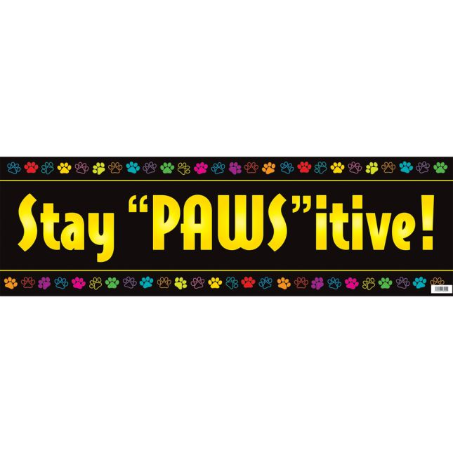 'PAWS'itive People Banner - 1 banner