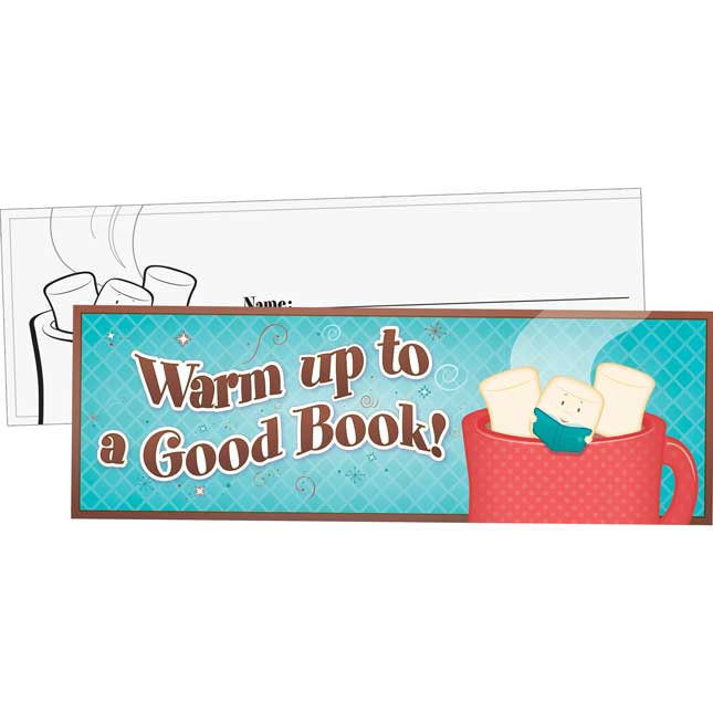 Warm Up To A Good Book Bookmarks