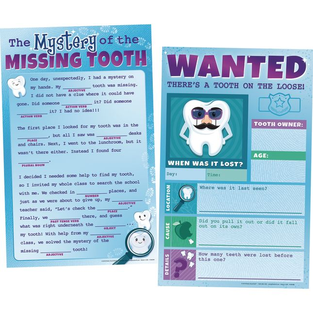 Missing Tooth Posters