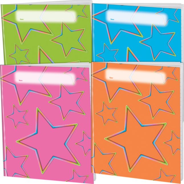 Neon Pop Journals - 4 Colors