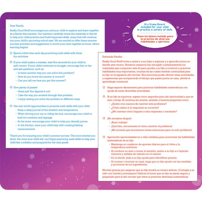 Summer Success Kit - Math - Fifth Grade Readiness