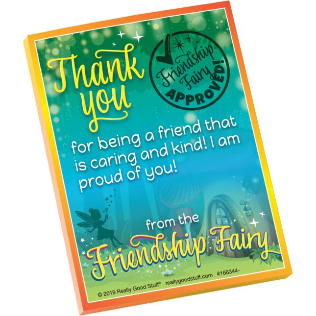 Friendship Fairy Sticky Notes  100 Sheets - 100 sticky notes