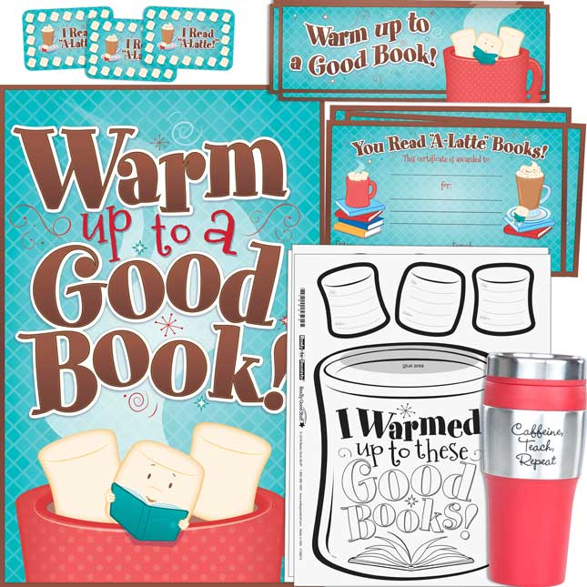 Teacher Gift Box - Warm Up To A Good Book