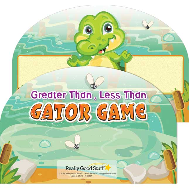 Greater Than, Less Than Gator Game