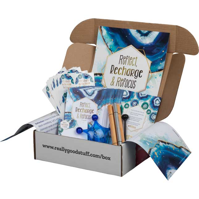 Reflect, Recharge and Refocus Kit