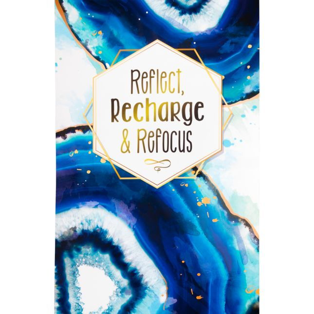 Reflect, Recharge and Refocus Poster