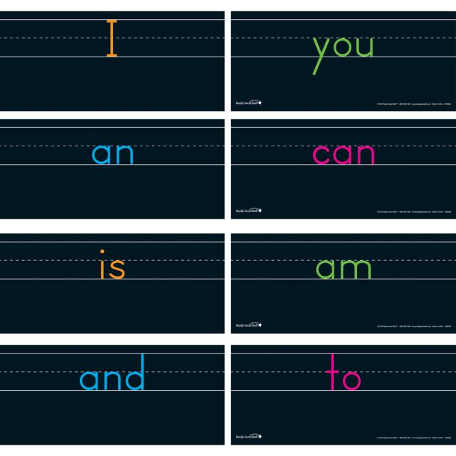 Sight Word Formation Cards