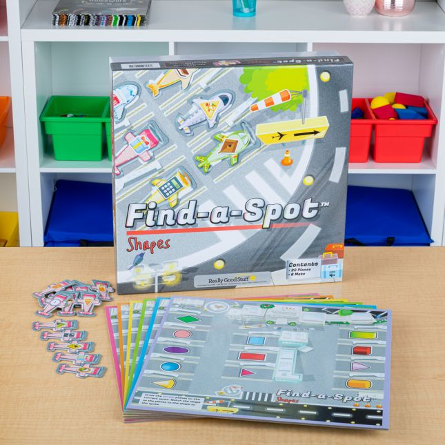 Find A Spot Shapes - 1 game_1