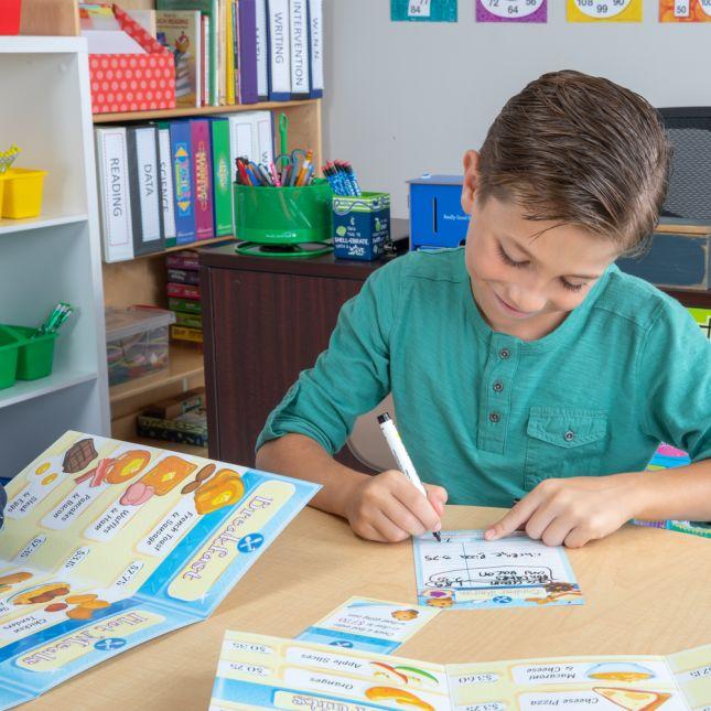 Budget Your Money – Menu Game