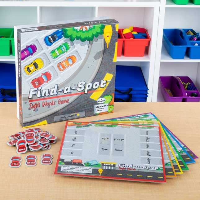 Find A Spot Sight Words