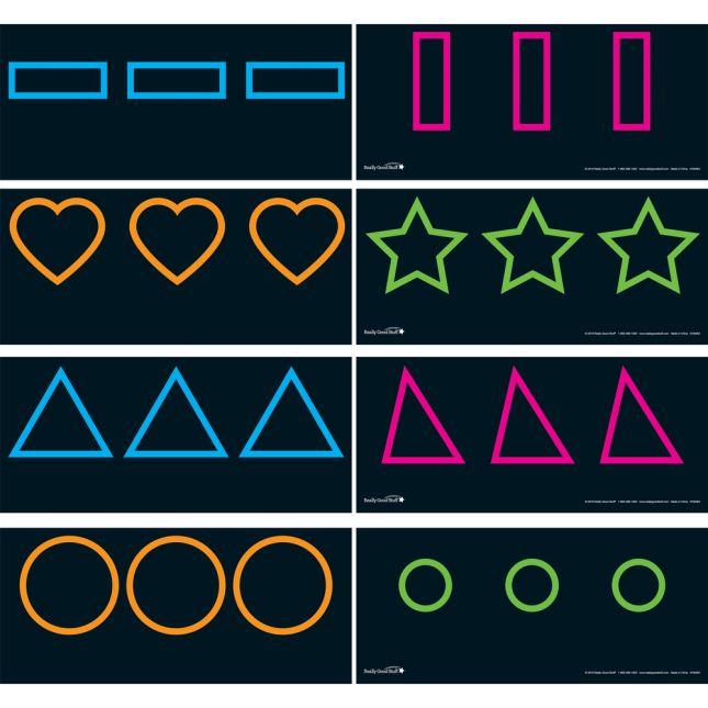 Shape Formation Cards