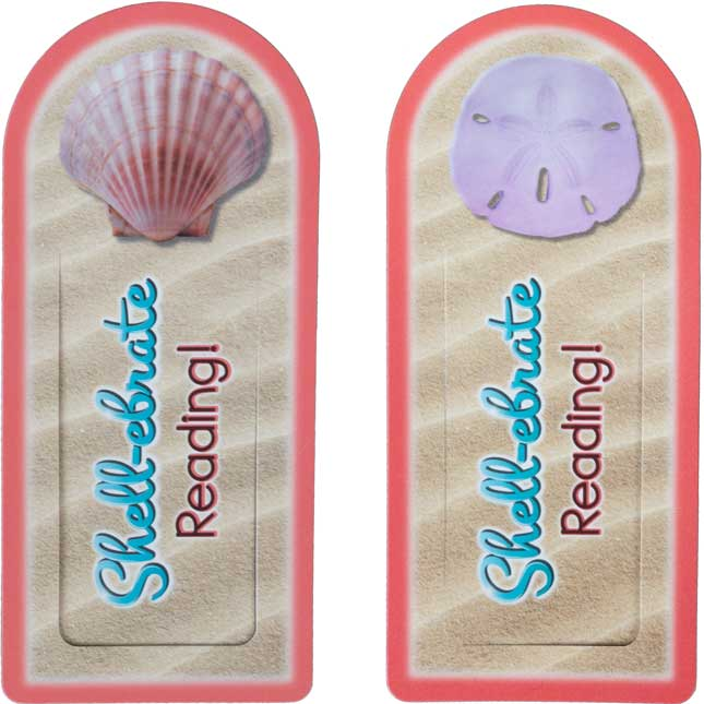 Let's Shell-ebrate Bookmarks - 36 bookmarks