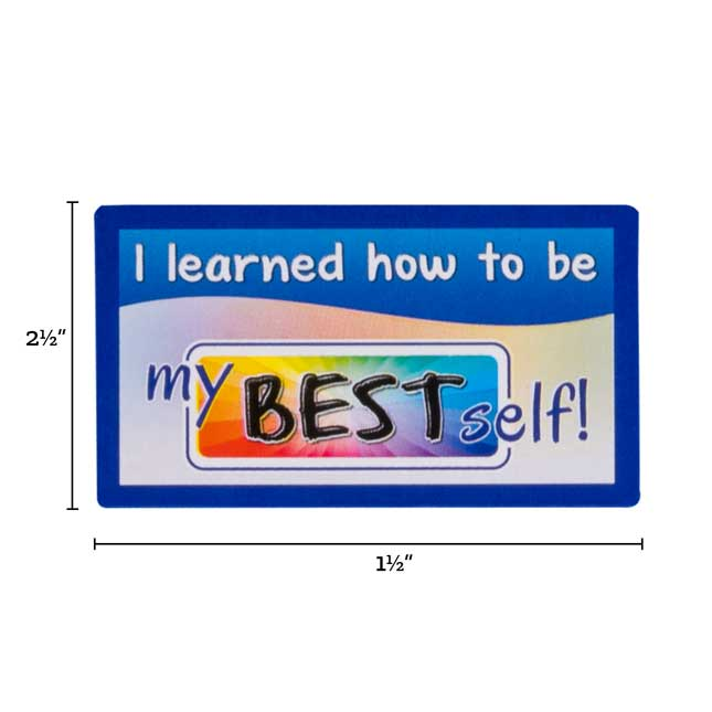 My Best Self Stickers