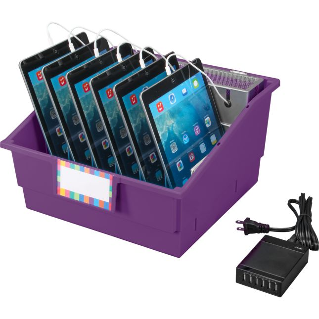 Tablet Storage And Charging Base™