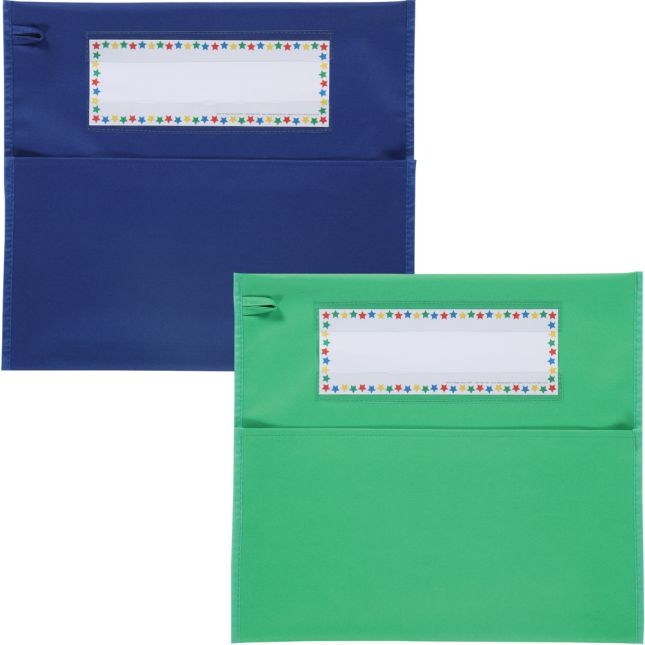 Grouping Chair Pockets - 6 Pack - 6 Group Colors - Assorted