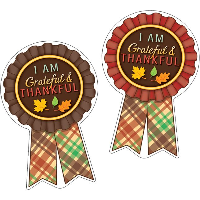 Grateful And Thankful Stickers