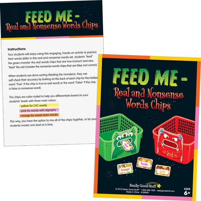 Feed Me – Real And Nonsense Words Chips - 100 chips_3