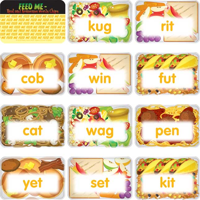 Feed Me – Real And Nonsense Words Chips - 100 chips_6