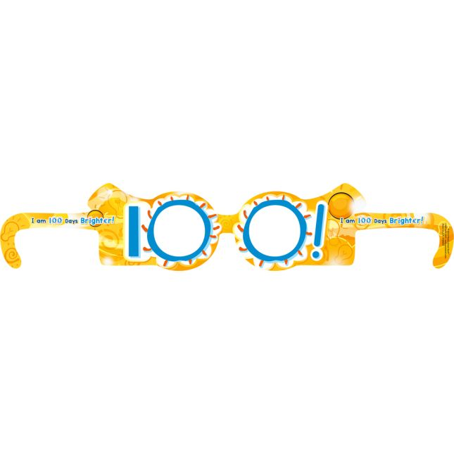 We Are 100 Days Brighter Glasses