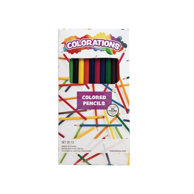 Colorations® Colored Pencils – Set Of 12