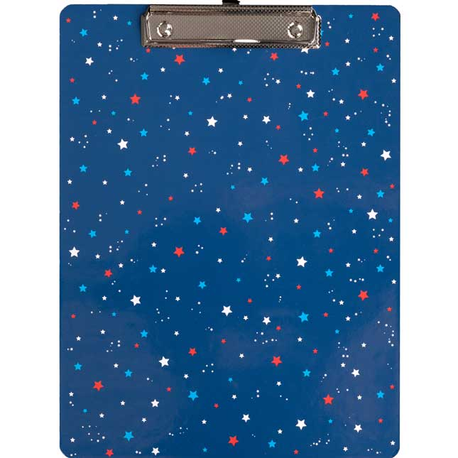 Star-Spangled Teacher Clipboard