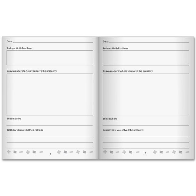 Explain Your Thinking Math Journals – Primary - 12 journals