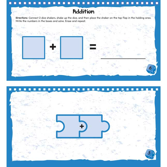 Dice Shakers Math Kit – Primary