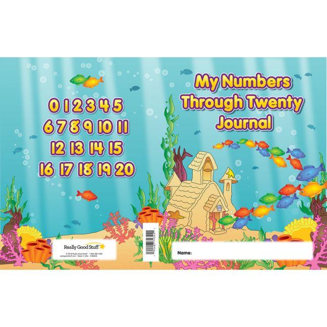 My Numbers Through Twenty Journals