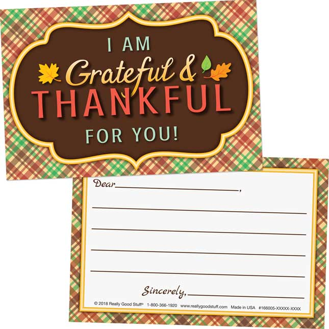 Grateful And Thankful Themed Kit