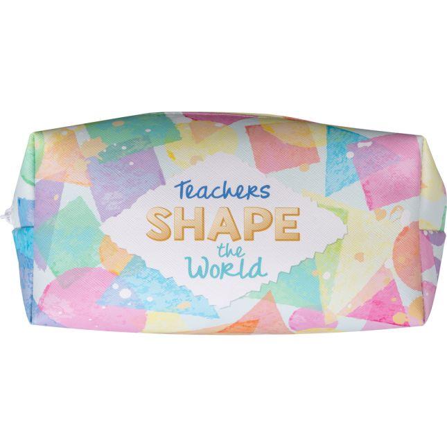 Teachers Shape The World Large Pencil Case - 1 pencil case