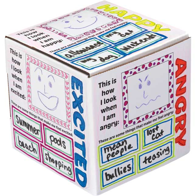 Ready-To-Decorate® – My Feelings Cubes - 12 cubes_1
